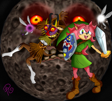 Majora's Mask Cosplay -Threat under the moon- by RaianOnzika