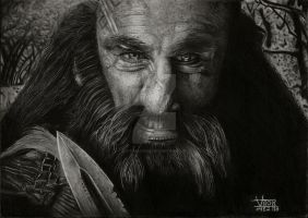 Dwalin-The Hobbit by vitorassis88