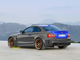 BMW e82 1Series M Coupe GT2 by MOMOYAK by MOMOYAK