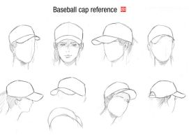 Baseball cap reference by randychen