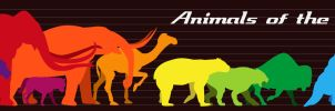 Animals of the Ice Age by FrauV8