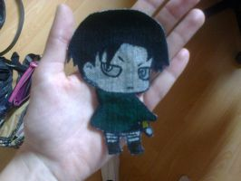 Chibi Levi by PokeYourFace