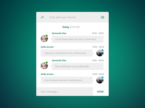 Chat messages by Rarousek by Rarousek