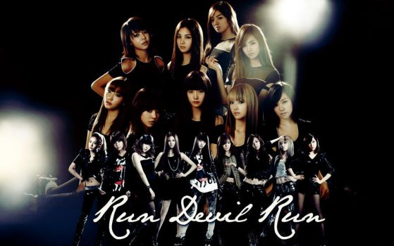 SNSD wallpaper 10. by NiiaChaan