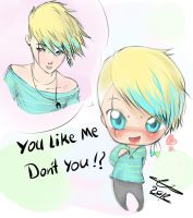 U Like Me, Don't U ?! by Yaoi-Master-Forever