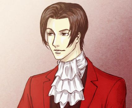 PW: Miles Edgeworth by Aerlin