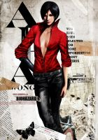 Ada Wong - Resident Evil 6 by SiriCC