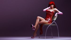 jessica rabbit style by SaphireNishi