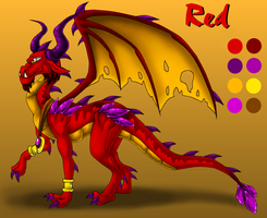Red -TLoS style by Seeraphine