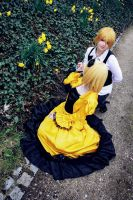 Rin and Len Kagamine (Servent of evil) 2 by Winry-or-Haku