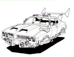The Cutlass, Inked by Sabakakrazny