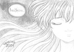 In the Dark - Kagome - Vane553 by Roguedemon-Inuyasha