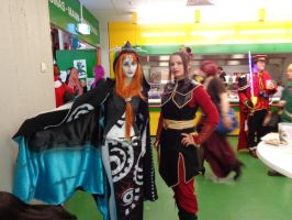Midna and Azula at MMC 2013 by Azael047