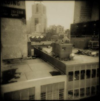 Shooting From The Rooftops by HumbleSage