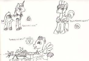 ARTICLE II Characters by DBuilder