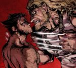 Wolverine and Sabretooth by Ricken-Art