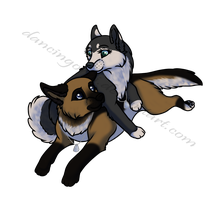 Chibi Commission for Dkraveice by DancingOrbi