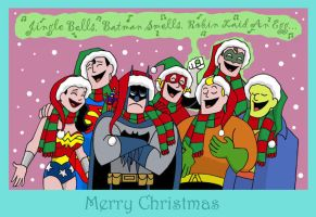 A Justice Christmas by The-BlackCat