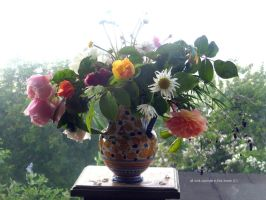 rose and peony inside and outside by GeaAusten