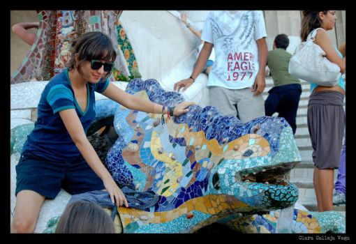 Parc Guell 7 by Kiroa