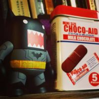 Chomping Chocolates, Batman!! 55/365 by PiliBilli
