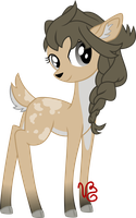 Custom Deer (CONTEST ENTRY 1st Place!) by VinylBecks