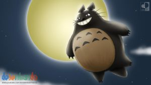 Flying Totoro by neoluk