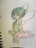 spring fairy by evildollie