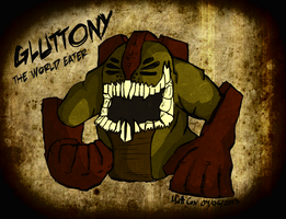 Gluttony: The World Eater (DS1) by MadDragonCharacters