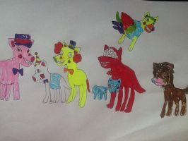 One Night At Flumptys Toys Dogs by Phoebeartfulgirl992