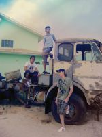 us and the old truck 2 by jsouzaprimo