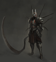 Dark Souls Style Armor Concept 1 by BABAGANOOSH99