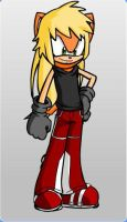 Edge as a Sonic Character by Gurahk2