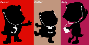 Peanut, Butter and Jelly iPod by JustinandDennnis
