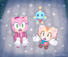 Snow Falling by sonic75619