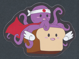 Octobread Sticker by maureencreates