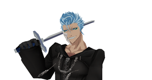 MMD Newcomer Grimjow Disorganization XIII + DL by Valforwing
