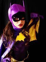 66 Batgirl Cosplay - Fist! by ozbattlechick