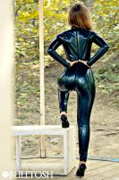 Katerina Piglet latex in Moscow 2 by LikeAbillion