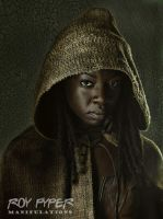 The Walking Dead: Michonne: (Ver. 2) HDR Re-Edit by nerdboy69