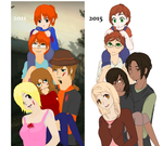 2011 to 2015 Comparison by Karma-Maple