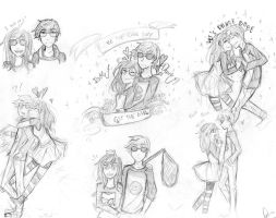 Dave and Jade OTP by riamarie33