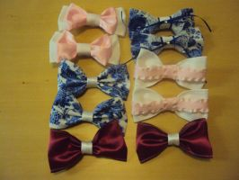 Lolita Hair Bows by bnybriek