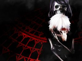 Spooky Scary Skeletons - Kaneki Ken by 34Kai