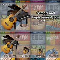 GarageBand Replacement Icon by Foxylittle