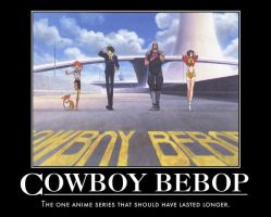 Cowboy Bebop motivational by jswv