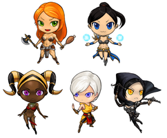 Diablo3 All Female Character by Ulsae