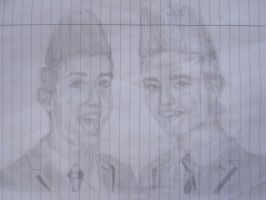 Jedward by Funny-horsey