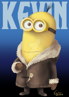 [Bored Silly]Kevin the Minion by DiabolicKevin