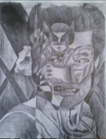 Wolverine pencil overlap by iamtherealbender